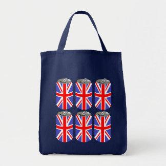 UK Six Pack Grocery Tote Bag