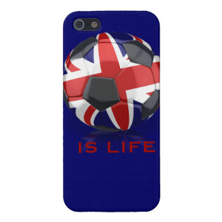 UK Soccer Ball IS LIFE Iphone 5 Case