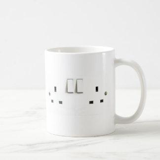 UK Socket design Basic White Mug