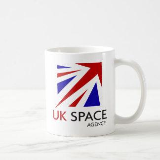 UK Space Agency Basic White Mug
