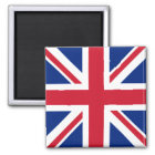 UK Square Magnet - Union Jack