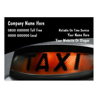UK Taxi Business Cards