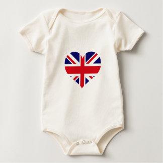 UK Union Jack Baby Bodysuit