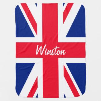 UK Union Jack British Flag Personalized Pramblanket