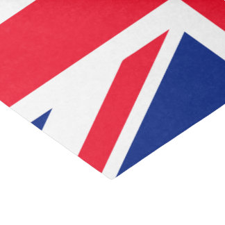 UK Union Jack British Flag Tissue Paper