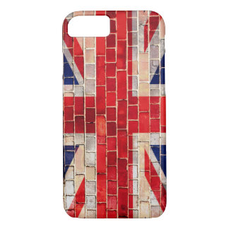 UK Union Jack flag on a brick wall iPhone 8/7 Case