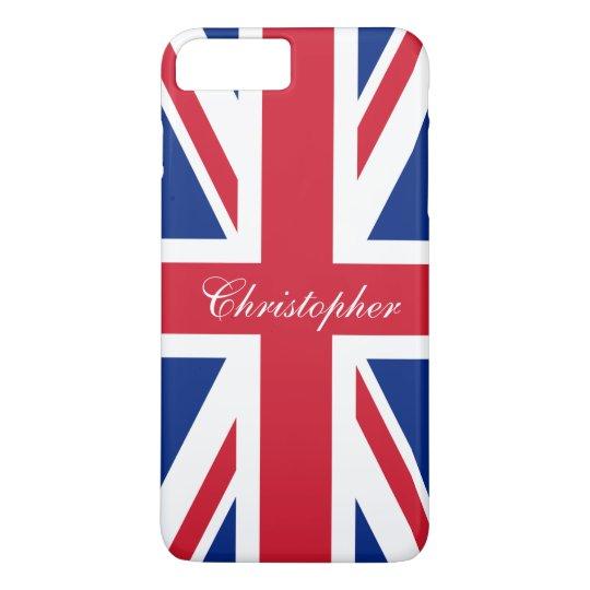 UK United Kingdom British Flag Union Jack iPhone 8 Plus/7 Plus Case