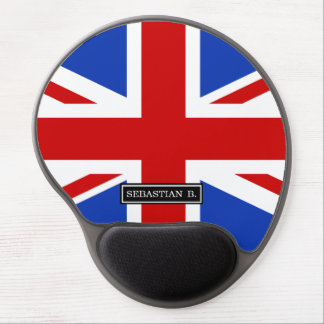 Uk United Kingdom Flag Gel Mouse Pad