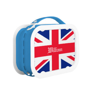 UK United Kingdom Union Jack Flag Customizable Lunch Boxes