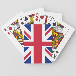 UK United Kingdom Union Jack Flag Playing Cards