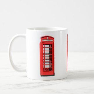 UK Victorian style Telephone Box Coffee Mug