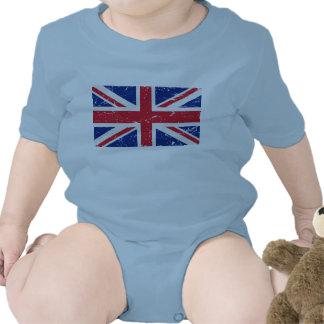 UK Vintage Flag Rompers