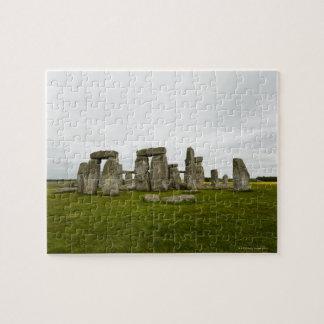 UK, Wiltshire, Stonehenge Jigsaw Puzzle