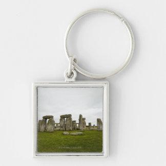 UK, Wiltshire, Stonehenge Key Ring