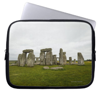 UK, Wiltshire, Stonehenge Laptop Sleeve