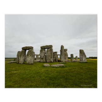 UK, Wiltshire, Stonehenge Poster