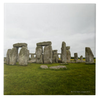 UK, Wiltshire, Stonehenge Tile