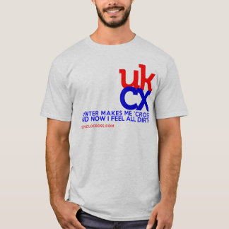 UKCyclocross - I feel dirty T-Shirt