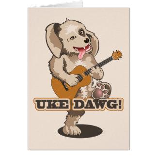 Uke Dawg! Greeting Card