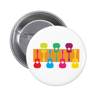 Uke Graphic 6 Cm Round Badge