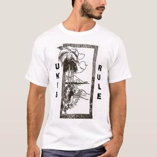 Uke Lady - Ukes Rule T-Shirt