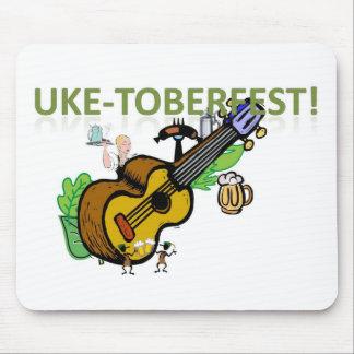 Uke-Toberfest! Mouse Pad