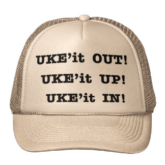 UKE'it OUT, UP & IN Cap