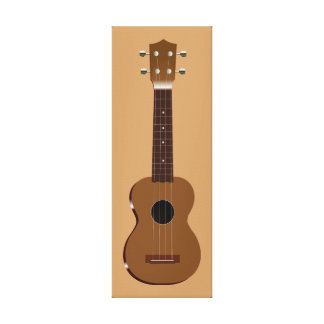 UKELELE GALLERY WRAPPED CANVAS