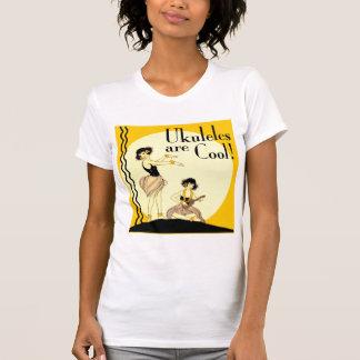 Ukes are Cool! Ladies light short sleeve T-Shirt