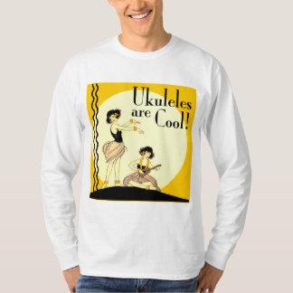 Ukes are Cool! Men's light long sleeve T-Shirt