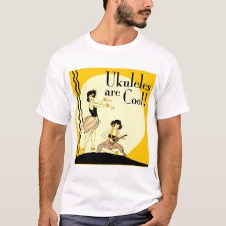 Ukes are Cool! Toddler dark short sleeve T-Shirt