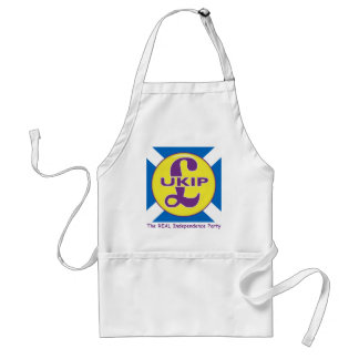 UKIP Scotland The Real independence Party Standard Apron