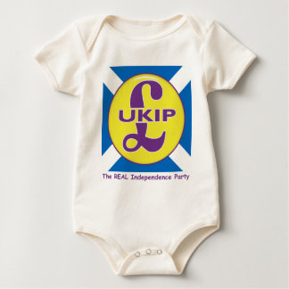 UKIP Scotland The Real independence Party Baby Bodysuit
