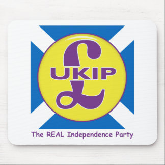 UKIP Scotland The Real independence Party Mouse Mat
