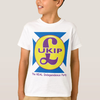 UKIP Scotland The Real independence Party T-Shirt