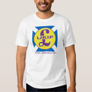 UKIP Scotland The Real independence Party Tshirt