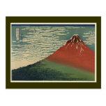 Ukiyo-e Hokusai Fujiyama Postcards