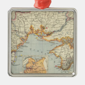 Ukraine and Moldova Christmas Ornament
