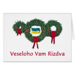 Ukraine Christmas 2 Greeting Card