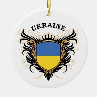Ukraine Christmas Ornament