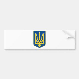 Ukraine Coat of Arms Bumper Sticker