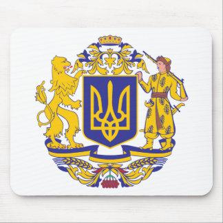 Ukraine Coat Of Arms Mouse Mat