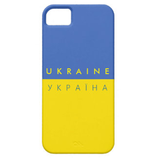 ukraine country flag name text symbol barely there iPhone 5 case