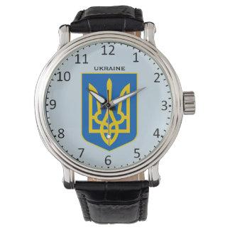 Ukraine Crest Custom Wristwatch