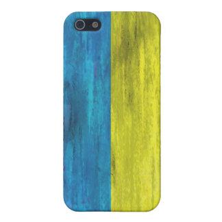 Ukraine distressed flag iPhone 5 cover