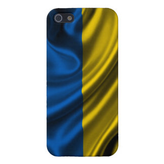 Ukraine Flag Fabric iPhone 5 Cases