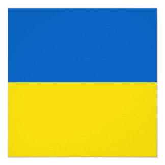 Ukraine Flag Invitation