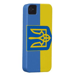 Ukraine Flag iPhone 4 Case
