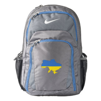 Ukraine Flag/Map Backpack