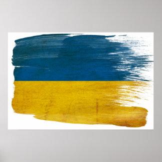 Ukraine Flag Posters